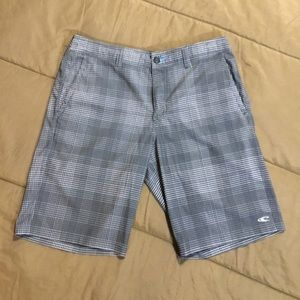 Men's  O'Neill Hybrid grey swim trunks shorts 33